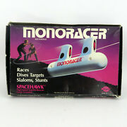 Vtg Monoracer String Monorail Toy, Barclay Precision Toys, Complete, Made In Usa