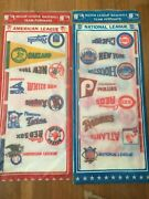 Vintage 80's Complete Mlb Mini Pennants. Sealed Cardinals Cubs A's Giants