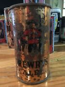 Old Drewrys Ale Beer Can Flat Top Keglined South Bend, In Indiana Gold