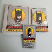 1992 Batman Returns Unopened Box Sealed All Cards And Inserts Official Folder Rare