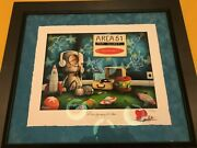 Fabio Napoleoni -let Me Play Among The Stars- Limited Edition Prof.framed