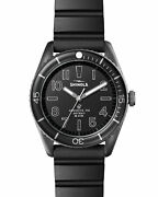 New Shinola The Duck Rubber Strap 42mm Mens Watch S0120183129