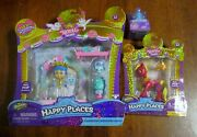 Shopkins Royal Trends Happy Places Lot Of 3wedding Archrubyblind Bagnew