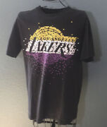 Vintage T-shirts Mens Pre-owned Large Los Angeles Lakers Awesome Screen Print