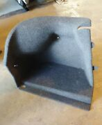 Bmw Oem E60 Left Rear Driver Side Wall Carpet Covering Trunk Trim Panel 2