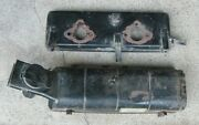 Triumph Tr7 Air Cleaner Filter Top And Base Airbox Stromberg 175 Cd2 Tr-7 Wedge