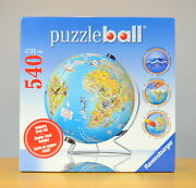 Ravensburger 540 Piece Puzzleball Display Stand Included - Made In Germany