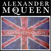 Alexander Mcqueen S/s 2011 And039god Save Mcqueenand039 Union Jack Scarf