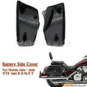 For Honda Vtx1800 R/s/n/f/t 2002-2008 Motorcycle Side Battery Covers Panel Set