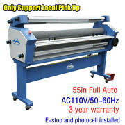 Upgrade 55 Full-auto Large Format Cold Laminator Machine With Heat Assisted
