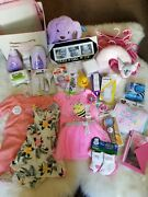 Newborn Baby Girl Shower Ultimate Gift Set. Clothes, Diapers, Baby Care, Big Box