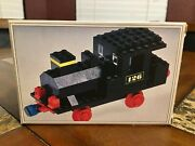 Lego 1970 Steam Locomotive 126 Train Complete With Box And Instructions Very Rare