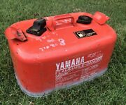 6.3 Gallon Yamaha Vintage Metal Outboard Boat Gas Fuel Tank Can Japan
