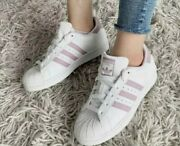 Adidas Original Supestar Voilet Strips White Ee7400 Womenand039s Shoes 100 Authentic