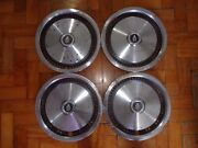 Set Of 4 Brazilian Dodge Polara Hubcaps 70s 80s 13and039and039 - Wheel Covers