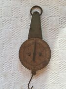 Vintage W.m. Welch Scientific Co. Chicago 9 Oz 250 Grams Hanging Scale Tested