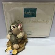 Fedex/ups Ship Wdcc Disney Classic Collection Bambi Thumper Figure Discontinued