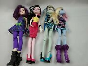 Monster High - 4 Doll Lot - Used Ships Free