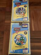 Lot Of 2 New Sealed Leap Pad Phonics 1 And 2 Book Cartridge Free Media Shipping