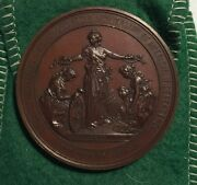 Exonumia Numismatic Medal 1876 100th Anniv. 7473 American Independence. Huge