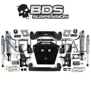 Bds Suspension 2007-2015 Tundra 4wd 4.5 Inch Coil-over Lift Kit 814f