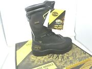 Oliver 65690 Black Leather- Mining Metguard Boots Oil Heat Water Resistant