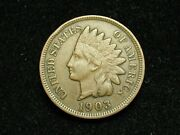 Summer Sale Xf 1903 Indian Head Cent Penny W/ Diamonds And Full Liberty 76c