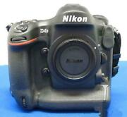 Nikon D4s 16.2mp Dslr Digital Camera Body W/box Cable Tested Working Used Ex++