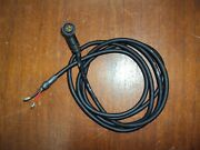 Raymarine 3 Pin Right Angle Power Cord Cable Used