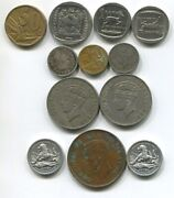 South And East Africa Rhodesia Coins Collection. British South Africa Medal
