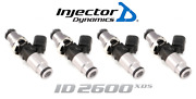 Injector Dynamics 2600-xds Fuel Injector 4pc 60mm For Volkswagen Audi 1.8l 2.0l