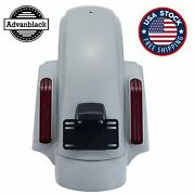Unpainted Cvo Style Rear Fender System Fits 2014+ Harley Touring By Advanblack