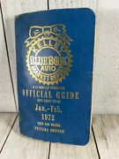 Vintage Kelley Blue Book Value Guides 1972 Great Man Cave Display Cool Gift