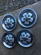 1973 Ford Mustang D1za-1130-db Wheel Covers Set
