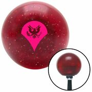 Pink Specialist Red Metal Flake Shift Knob Usa Shifter Auto Brody Speed Drag Fly