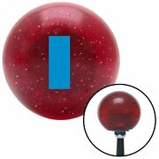 Blue Ensign Rank Red Metal Flake Shift Knob Usa Shifter Auto Brody Tree Truck Si