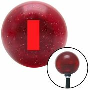 Red Ensign Rank Red Metal Flake Shift Knob Usa Shifter Auto Brody Car Gear Truck