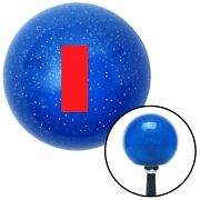 Red Ensign Rank Blue Metal Flake Shift Knob Usa Shifter Auto Brody Speed Car Fly