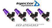 Injector Dynamics 2600-xds Fuel Injector 4pc 60mm For Ford Mustang Svo