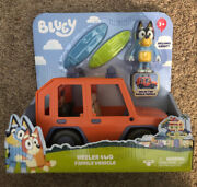 Bluey Heeler 4wd Family Vehicle With Bandit The Dad Bluey Car / Brand New