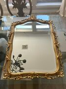 Friedman Brothers Mirror Rectangle Gold Antique Excellent Conditionandnbsp