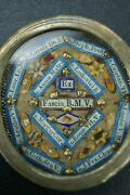 Anddagger 19th Bvm Scarf Louis Ix Stephen Lawrence .. Multi Reliquary 13 Relics Italy Anddagger