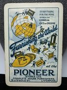 Pioneer Stores Furniture Old Antique Playing Card Singleswap Wide Collection Brk