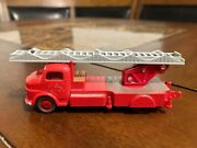 Lego Ho Scale Vintage Classic 1960's Mercedes Fire Truck Extremely Rare