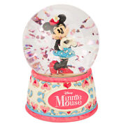 New Disney Minnie Mouse I Heart You Water Ball