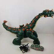 Fisher Price Imaginext Spike Dinosaur Rc Remote Control Large Complete Works
