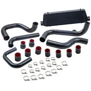 Front Intercooler And Aluminum Pipe Tube And Coupler Kit For Acura Integra 1994-2001