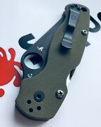 Fits Spyderco Paramilitay 2 Phillips Titanium Replacement Scale Screwsandbull 4xscrews