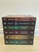 Lot Of 6 Matched Paperback Books Vampire Academy Series Richelle Mead