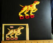 D-o-g Spelling Puzzle Magnet Art Deco American Toy And Furniture Company